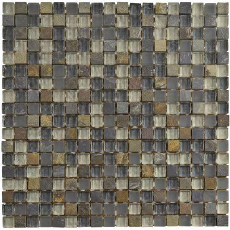 home depot merola tile merola tile tessera mini wisp 11 3 4 in x 11 3 4 in x 8