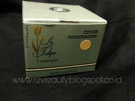 La Tulipe Soft Foundation 12 5gr honest review la tulipe cover foundation hi