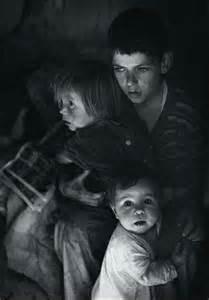 Trailer Camp Children Ansel Adams
