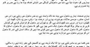 pollution essay in urdu land pollution essay for kids in urdu