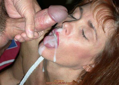 Nice Redhead Licking And Facialed In Mouth