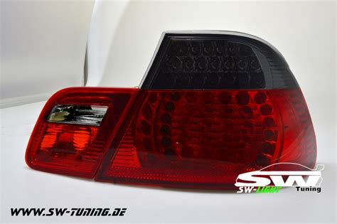 bmw e46 led rückleuchten sw light led r 252 ckleuchten f 252 r bmw e46 2t coupe 98 03