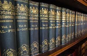 Do You Come From An Encyclopedia Britannica Family  World