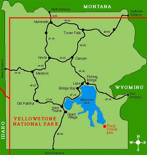 map yellowstone national park compressportnederland