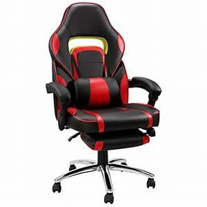 Merax Gaming Stuhl : langria schreibtischstuhl gaming stuhl computer spiel ~ Watch28wear.com Haus und Dekorationen