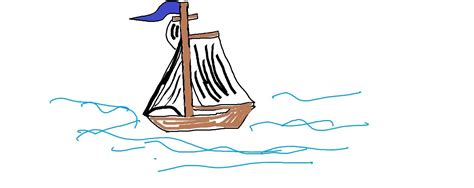 Drawing A Fishing Boat Step By Step by Easy Kids Drawing Lessons How To Draw A Boat Step By Step