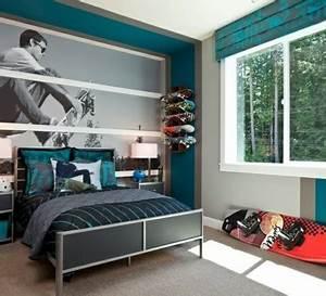 Wandgestaltung Für Jugendzimmer : farbgestaltung f rs jugendzimmer 100 deko und einrichtungsideen ~ Markanthonyermac.com Haus und Dekorationen