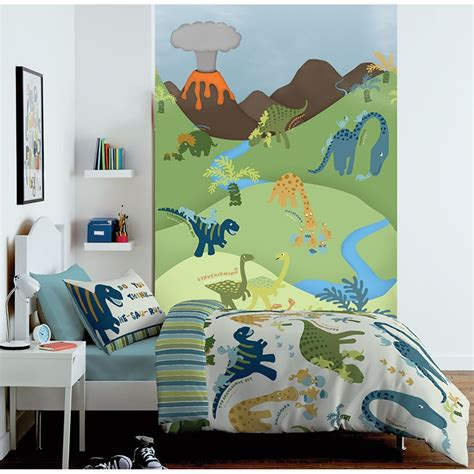 Bedroom Wallpaper Range by Catherine Lansfield Bedroom Range Dinosaur Bedding Wall