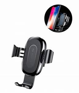 Handyhalterung Auto Wireless Charging : fastest wireless gravity car mount and charger buy now1 ~ Kayakingforconservation.com Haus und Dekorationen