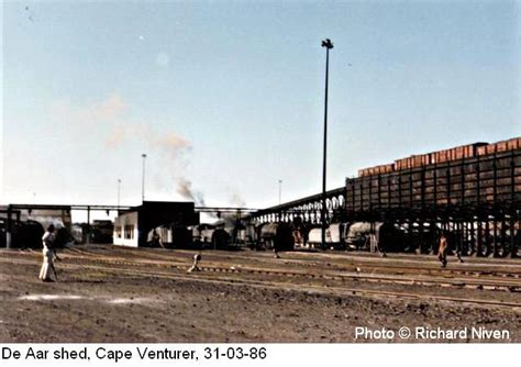 northern cape railway station shed  yard