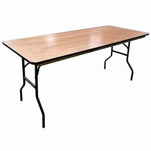 Table Bois Rectangulaire : table pliante rectangulaire traiteur 183cm 8 personnes ~ Teatrodelosmanantiales.com Idées de Décoration