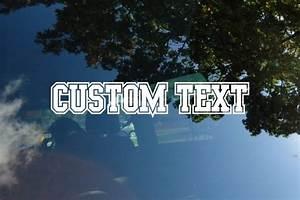 custom die cut vinyl lettering decals stickers decalboy With custom die cut vinyl lettering