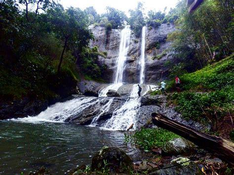 curug ngelay eksotisnya wisata alam di jawa barat jawa barat