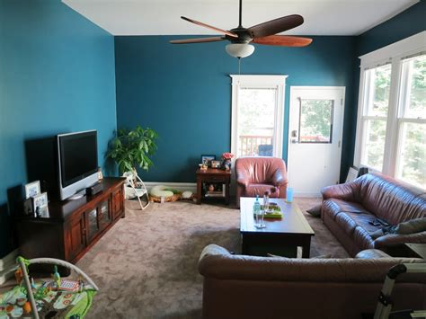 Brown Teal And Gray Living Room Conceptstructuresllccom