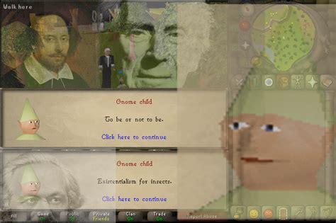 Dank Runescape Memes - image 813212 gnome child know your meme