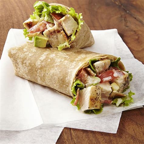 chicken club wraps recipe eatingwell