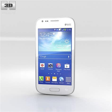 samsung galaxy ace 3 white 3d model electronics on hum3d