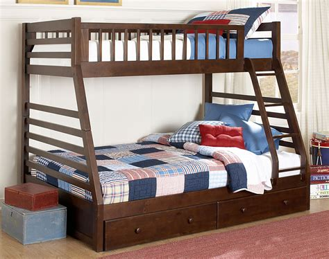 bunk bed starship bunk bed set chocolate cherry 39 s