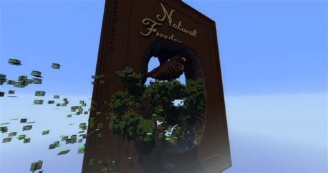 natural freedom book nature minecraft building