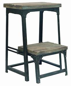 Industrial, Step, Stool, By, Crestview, Collection, Cvfzr247, U2013, The, Rustic, Furniture, Store