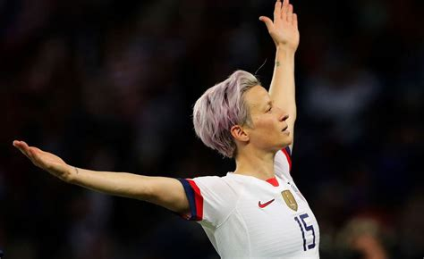 megan rapinoe leads usa  world cup win  france time