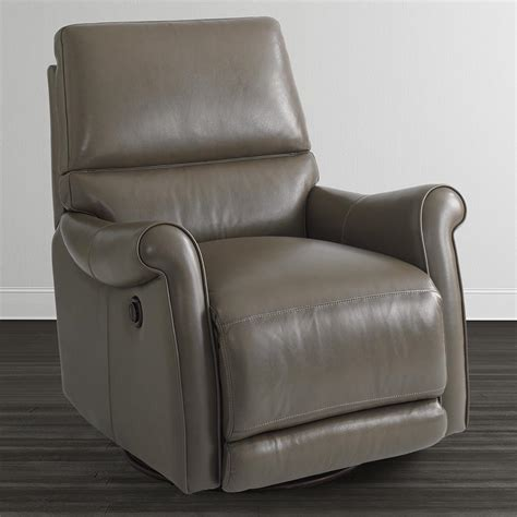 leather swivel recliner brown leather swivel recliner