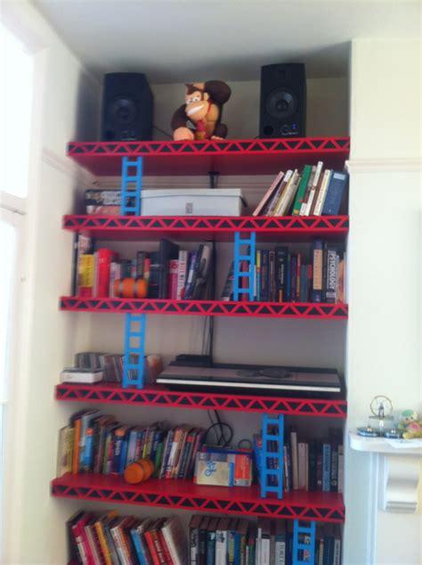 The Ordinary Geek Geek Furniture Donkey Kong Shelves