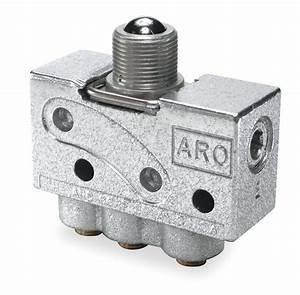 Aro 5  32 U0026quot  Manual Air Control Valve With 3