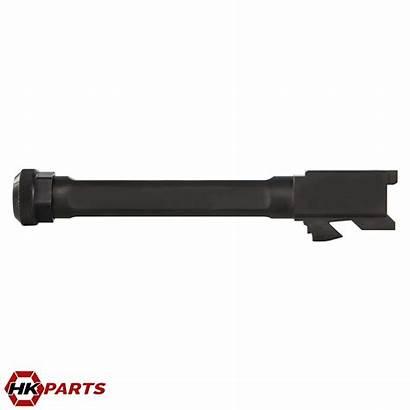 Barrel Glock Threaded 9mm Fluted Hkparts Parts