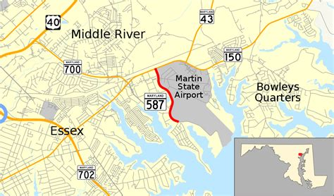 Maryland Route 587 - Wikipedia
