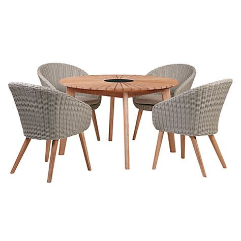buy lewis sol 4 seater dining table chairs