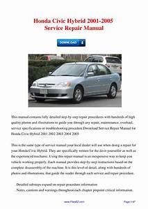Honda Civic Hybrid 2001