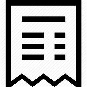 Bill, ecommerce, payment, receipt icon | Icon search engine