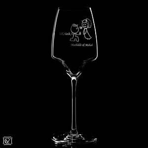 Gros Verre A Vin : gros verre vin muse 65 cl cristal degrenne verre cr ations grav ~ Teatrodelosmanantiales.com Idées de Décoration