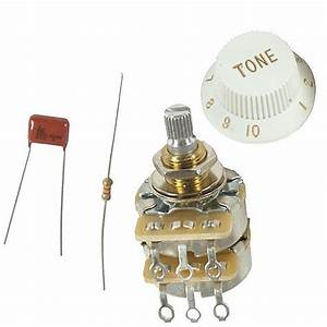 Genuine Fender Tbx Tone Control Potentiometer Kit