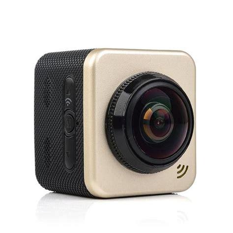 cube  panorama wifi p action camera golden