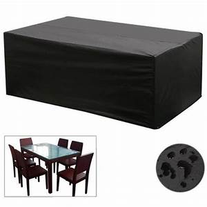 black waterproof patio furniture cover for outdoor garden With outdoor furniture covers in black