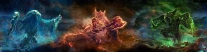 Skyrim Elder Scrolls Monitor Triple Skills Skill