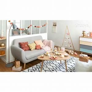 Sofa Grau 3 Sitzer : skandinavischer sofa 2 3 sitzer grau iceberg maisons du monde ~ Eleganceandgraceweddings.com Haus und Dekorationen