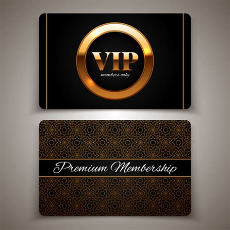 Vip Card Design Free Vector Download (12,641 Free Vector