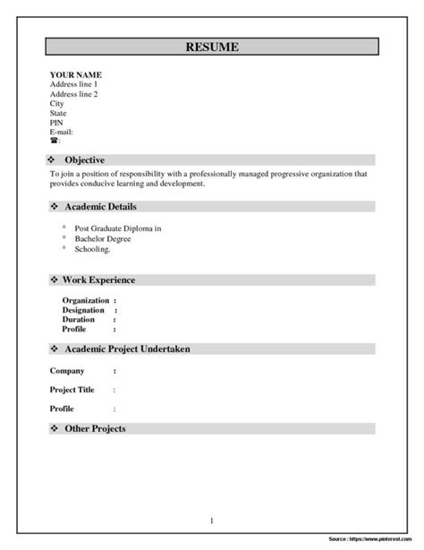 Resume Format Docs by Bigcommerce Template Layout File Templates Resume