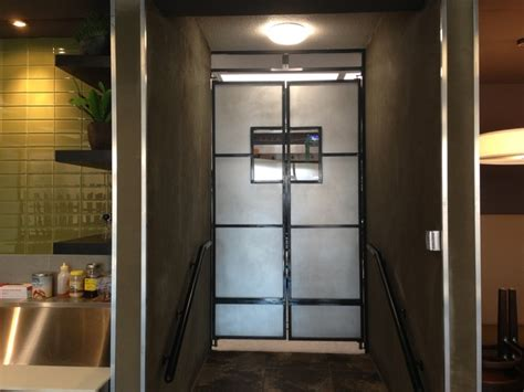 Exterior Kitchen Door With Window by Kitchen Dinning Swing Doors