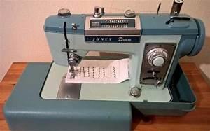 Jones Deluxe Sewing Machine Instruction Manual
