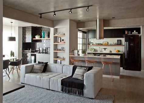 contemporaneo  toque retro interiors living room