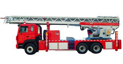 High Ladder Fire Truck