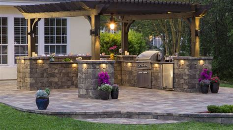 country outdoor kitchen ideas amazing outdoor kitchen ideas for enjoyable cooking time 6193