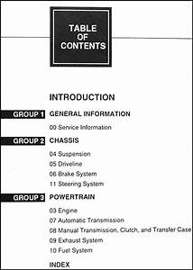 1999 Ford Expedition Lincoln Navigator Repair Shop Manual