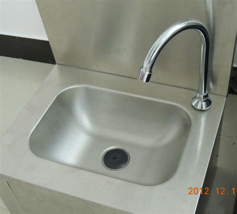 small hand wash sink cosbao commercial stainless steel knee operated small hand