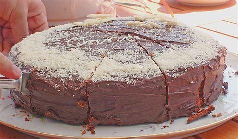 Feine Schokoladentorte (rezept Mit Bild) Von Chrissy79