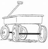 Wagon Kleurplatenl sketch template